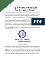 History of Bank nepal