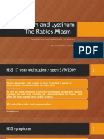 Stramonium and Lyssinum – the Rabies Miasm 1