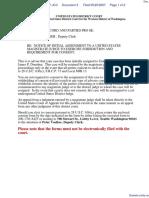 Zango Inc v. PC Tools Pty Ltd - Document No. 3