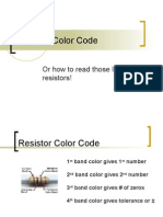 Resistor Color Code Power Point