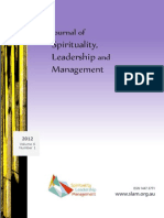 Journal of Spirituality Leadership and Management