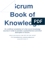 Scrum Book of Knowledge - V1.0