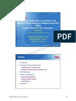 TUTORIAL 3 Dynamic Performance Evolution & Testing of PMU