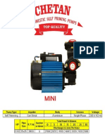 Chetan 0.5 Hp self priming Pump