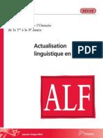 Actualisation linguistique en français