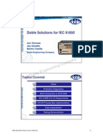 Doble Solutions for IEC61850