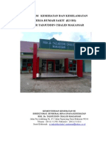 contoh Program K3 Rumah Sakit
