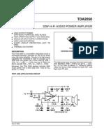 TDA 2050 Datachip