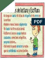 Trastorno Lectura y Escritura