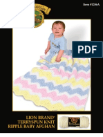 Rippled Baby Blanket