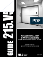 Detailed Installation & Maintenance