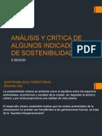 6 Analisis y Critica de Algunos Indicadores de Sostenibilidad Sustentabilidad Sabado
