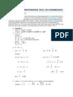 Pembahasan Matematika 2013 Download