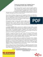 Juventud Rebelde Cauca-Movilización por la PAZ