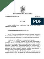 Legea 10 1995 adoptata in 03.06.2015