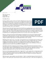 Uu Letter to Mayor Brown