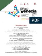 Effetto Venezia 2015