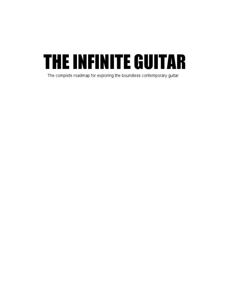 The Infinite Guitar Chord Music Mode Music