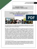 303. EDUCACION Y ESCUELA + OBSERVAR EL PRESENTE, PENSAR EL FUTURO