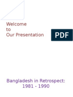 Report on Bangladesh 1980-1990