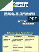DGPM_MINEDU Modulo de Formulacion Mayo 2009 JRC