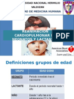 RCP en Neonatos Lactantes Gestantes e Intraoperatorio