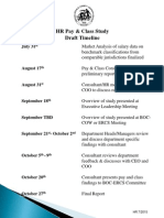 Pay and Class Study Timeline 7-13-15