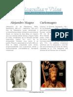 Alejandro Magno y Carlomagno