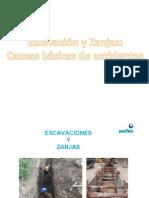Excavaciones y Zanjas