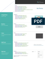 Common Android Views Cheat Sheet