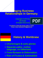 Building Effective Business Relationships In Germany