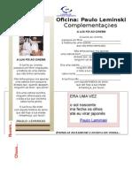 Usina - Paulo Lemisnki - Fundamental Fase II