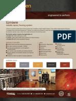 Lumiere - Matallic epoxy flooring system e
