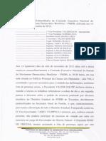 Ata - Reunião Extraordinaria Do Pmdb - 14-11-12