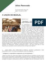 A UNÇÃO de BEZALEL _ Ministério Apostólico Renovado