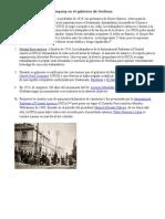 El Poder de La Unite Fruit Company en El Gobierno de Orellana