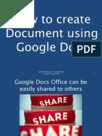 How to create a Document using Google Docs.pdf