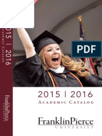 2015 - 2016 Academic Catalog - Franklin Pierce University