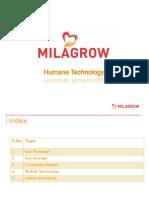 Milagrow Corporate Presentation 2015