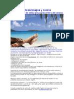 Drenaje linfático y presoterapia