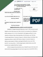 Savannah Marine Services, Inc. - Document No. 10
