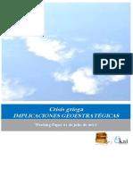 Crisis griega. Implicaciones geoestratégicas