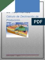 Cálculo de Declinación de Producción (VASCONEZGIOVANNY)