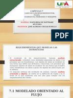 INGENIERÍA DE SOFTWARE (UN ENFOQUE PRACTICO) CAPÍTULO 7 MODELADO DE LOS REQUERIMIENTOS