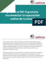 ¿Puede el Wi-fi gratuito incrementar la reputación online de tu hotel?