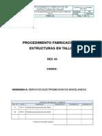 IMCO-CR1027653-PRC-1010 - Procedimiento de Fabricación de Estructuras