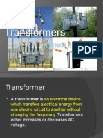 Transformers Single Phase