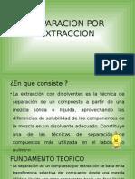 Separacion Por Extraccion