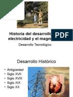 1-Historia Del Desarrollo de La Electricidad y El[1]