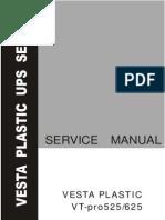 VT-pro 525-625 Service Manual